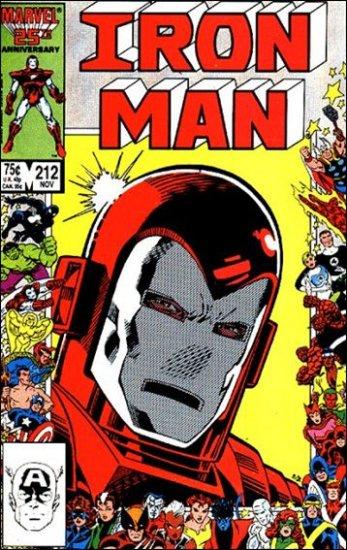 IRON MAN #212 VF/NM (1968)