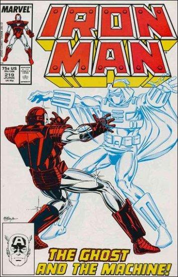 IRON MAN #219 VF/NM (1968)