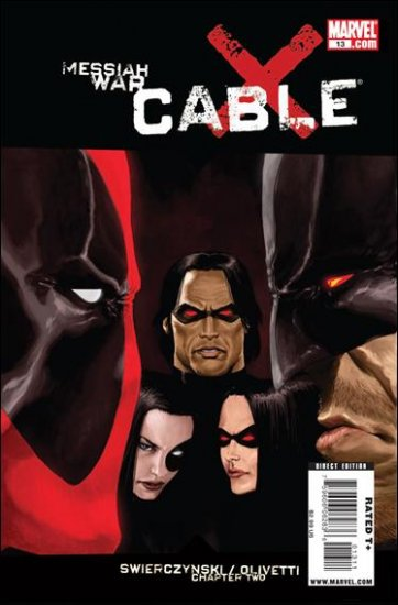 CABLE #13 NM (2009) *MESSIAH WAR*