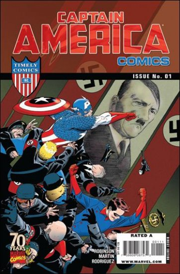 CAPTAIN AMERICA COMICS #1 NM (2009)