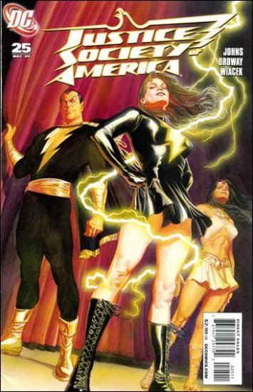 JUSTICE SOCIETY OF AMERICA #25 NM (2009)