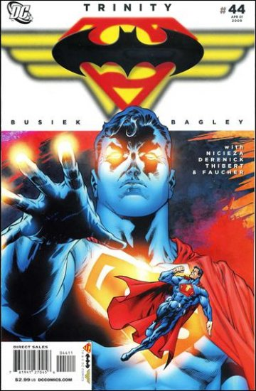 TRINITY #44 NM (2009) SUPERMAN, BATMAN, WONDER WOMAN