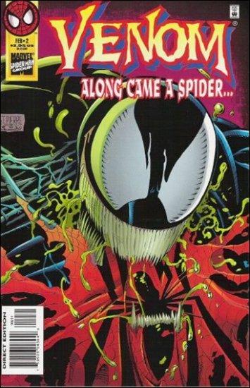 VENOM ALONG CAME A SPIDER #2  VF/NM