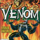VENOM SINNER TAKES ALL #1  VF/NM