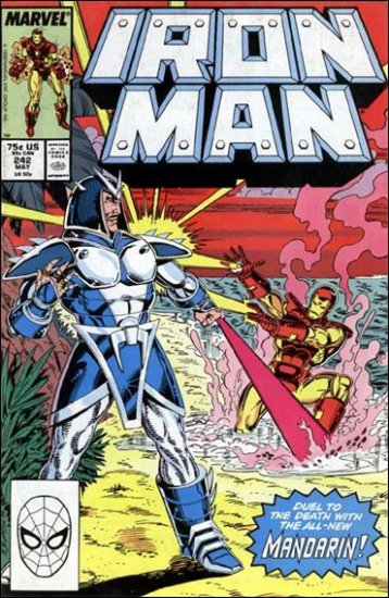 IRON MAN #242 VF/NM (1968)
