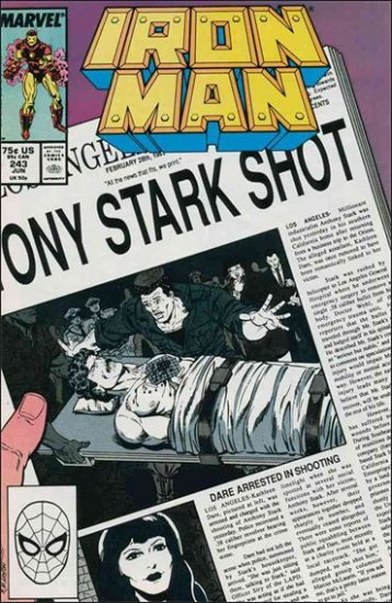IRON MAN #243 VF/NM (1968)
