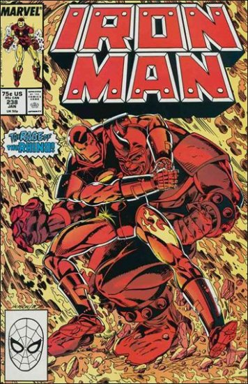 IRON MAN #238 VF/NM (1968)