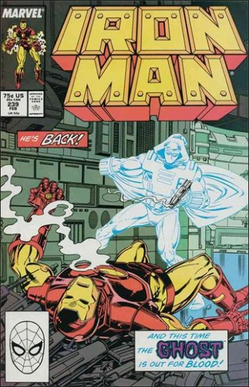 IRON MAN #239 VF/NM (1968)