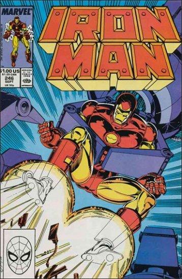 IRON MAN #246 FN- (1968)