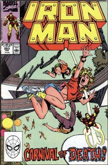 IRON MAN #253 VF/NM (1968)