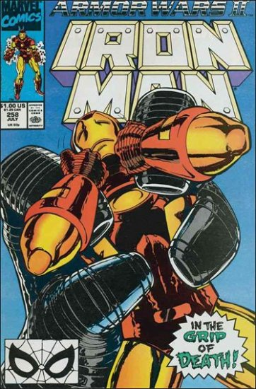 IRON MAN #258 VF/NM (1968) ARMOR WARS II