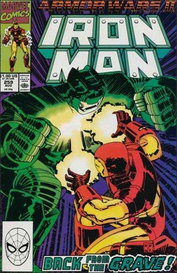 IRON MAN #259 VF/NM (1968) ARMOR WARS II