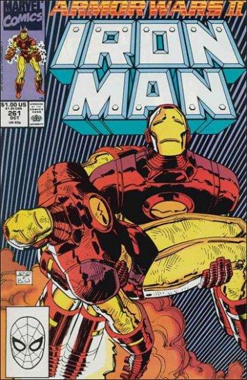 IRON MAN #261 VF/NM (1968) ARMOR WARS II