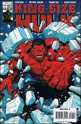 KING SIZE HULK #1 NM (2008) RED HULK *B* COVER