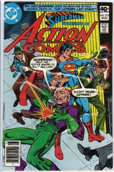 Action Comics (Vol 1) #510 [1980] VF/NM