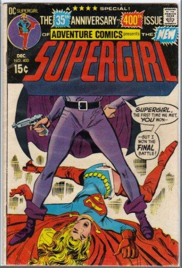 ADVENTURE COMICS #400  SUPERGIRL VG