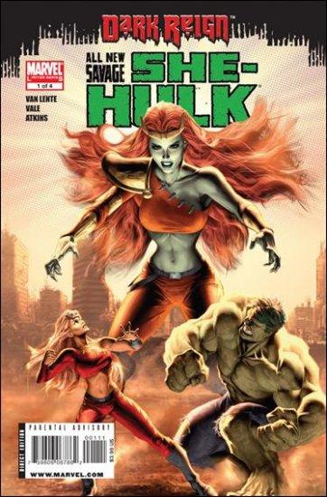 ALL NEW SAVAGE SHE-HULK #1 NM (2009)