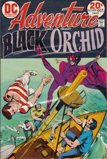 ADVENTURE COMICS #429 F/VF  BLACK ORCHID