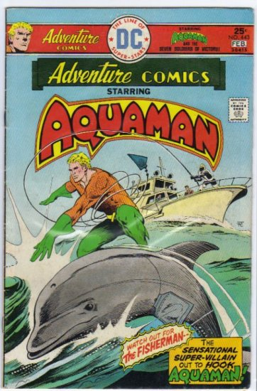 ADVENTURE COMICS #443 *AQUAMAN*