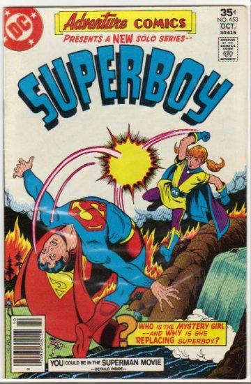 ADVENTURE COMICS #453 *SUPERBOY*
