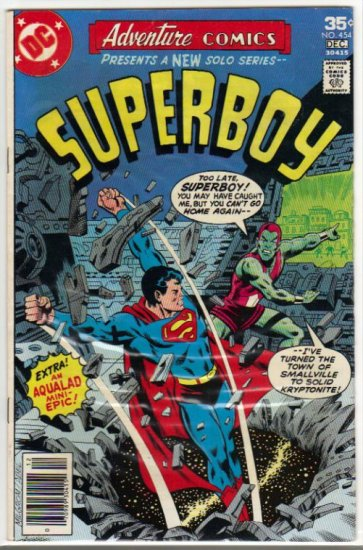 ADVENTURE COMICS #454 *SUPERBOY*