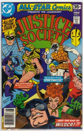 ALL STAR COMICS #73 *JSA*