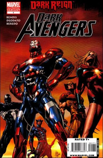 DARK AVENGERS #1 NM (2009) 2ND PRINT VARIANT