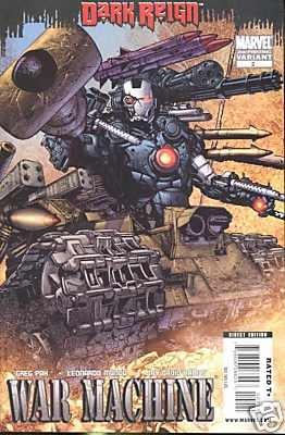 WAR MACHINE #2 NM (2009) 2ND PRINT VARIANT *DARK REIGN*