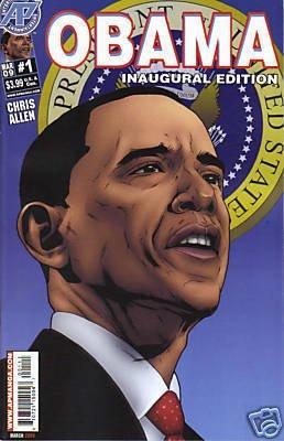 OBAMA INAUGURAL EDITION #1 NM (2009)