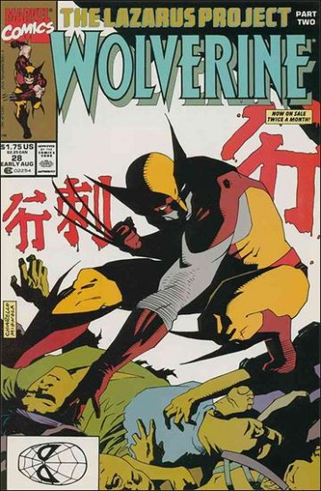 WOLVERINE #28 VF/NM (1988)