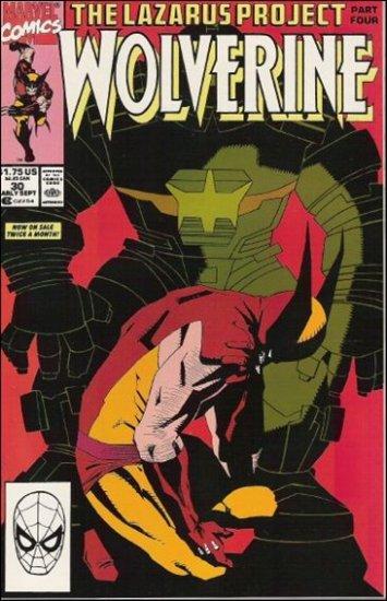 WOLVERINE #30 VF/NM (1988)