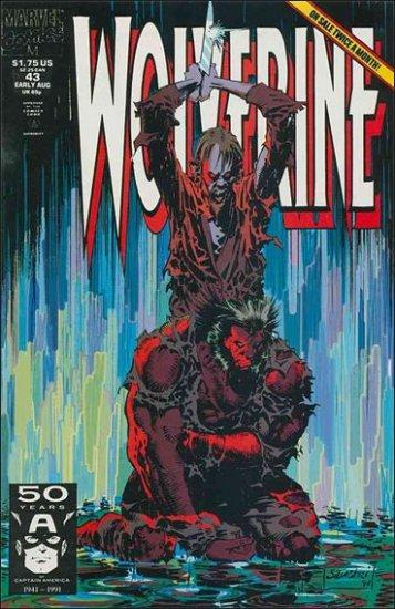 WOLVERINE #43 VF (1988)