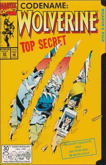 WOLVERINE #50 VF/NM (1988)