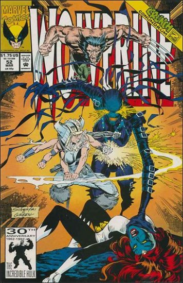 WOLVERINE #52 VF (1988)