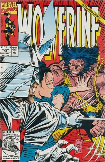 WOLVERINE #56 VF/NM (1988)