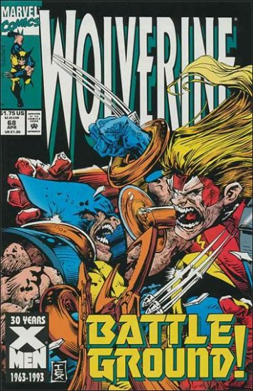 WOLVERINE #68 VF/NM (1988)