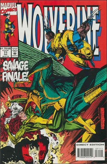 WOLVERINE #71 VF/NM (1988)