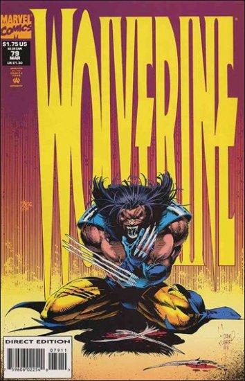 WOLVERINE #79 VF/NM (1988)