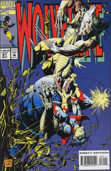 WOLVERINE #81 VF/NM (1988)