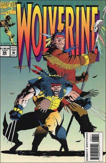 WOLVERINE #86 VF/NM (1988)