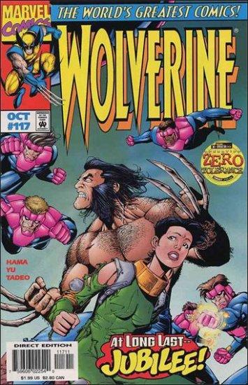 "WOLVERINE #117 VF/NM (1988) ""OPERATION ZERO TOLERANCE"""