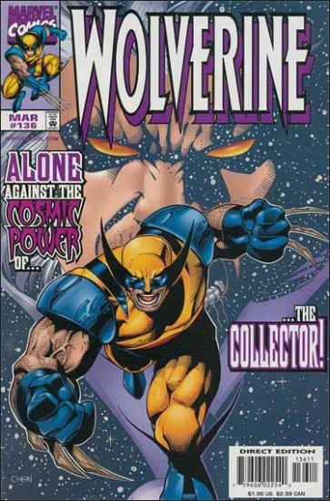 WOLVERINE #136 VF/NM (1988)