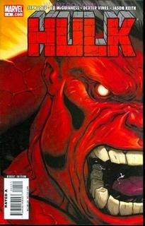 "HULK #4 NM (2008) ""A"" RED HULK COVER"