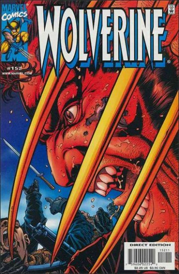 WOLVERINE #152 VF/NM (1988)