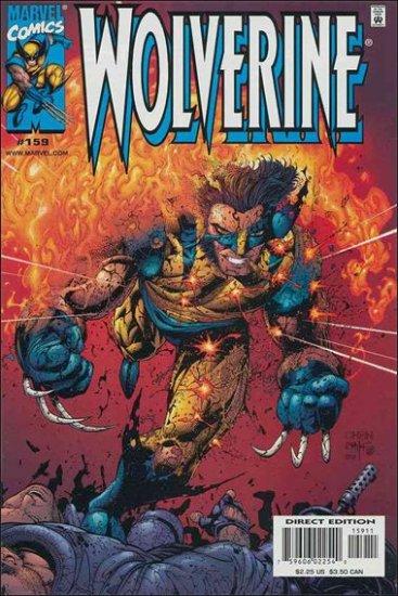 WOLVERINE #159 VF/NM (1988)