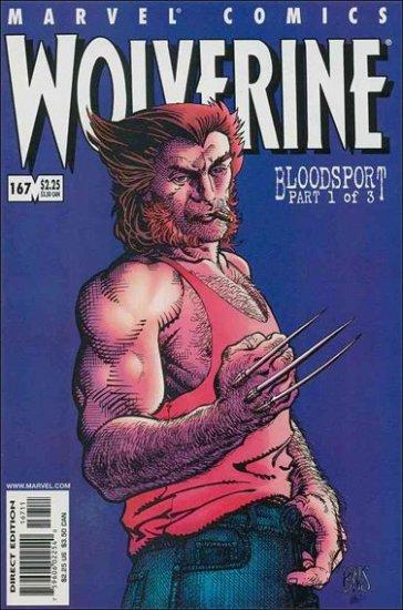 WOLVERINE #167 VF/NM (1988)