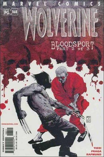 WOLVERINE #168 VF/NM (1988)