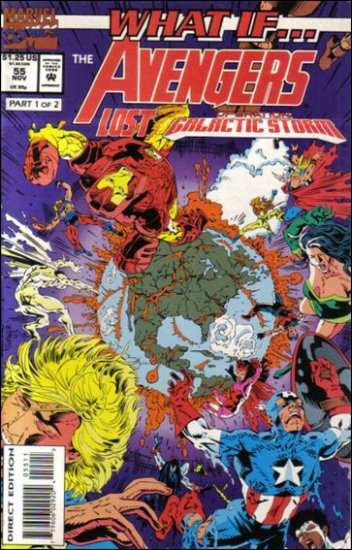 WHAT IF... VOL 2 #55 F/VF (1989)