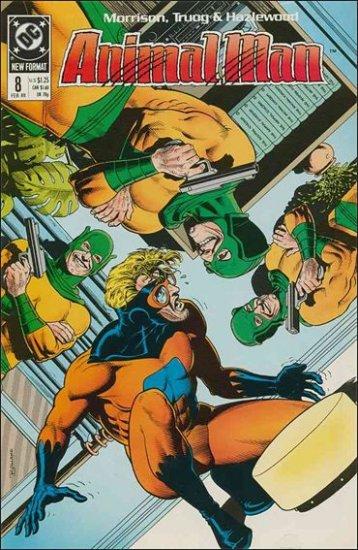 ANIMAL MAN #8 VF/NM (1988)