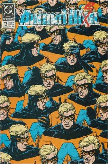 ANIMAL MAN #12 VF/NM (1988)